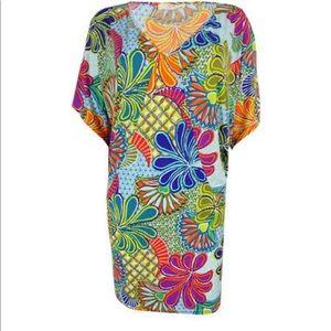 Trina Turk floral stretch dress